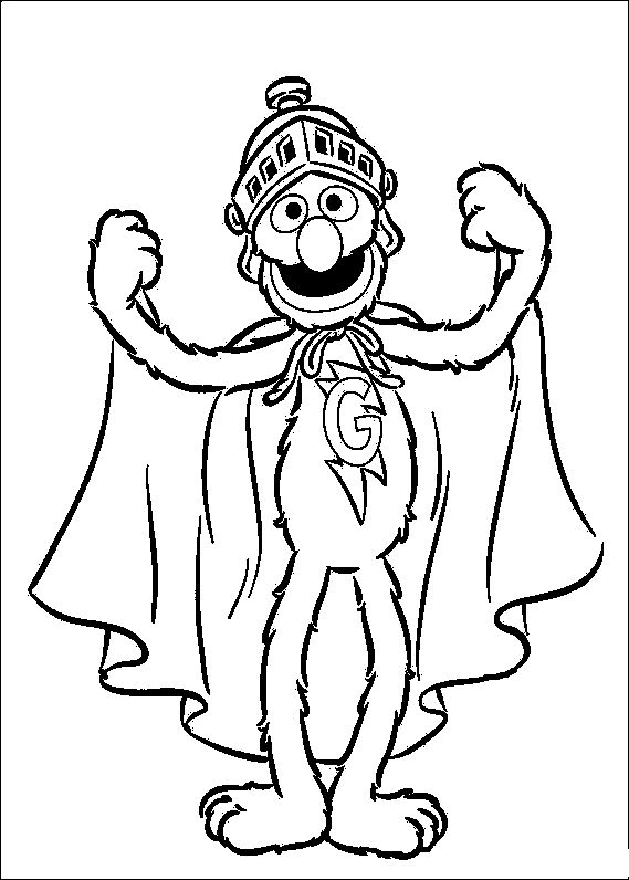 67 best Sesame Street Coloring Pages images on Pinterest ...