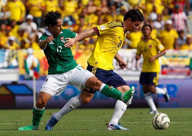LA PREVIA: Bolivia vs. Colombia juegan hoy por las Eliminatorias Rusia 2018