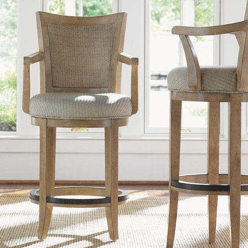 Carmel Swivel Bar Stool   Sophisticated And Luxurious, The Lexington 30 In.  Carmel Swivel Bar Stool Is A Beautiful And Comfortable Addition To Your  Dining ...