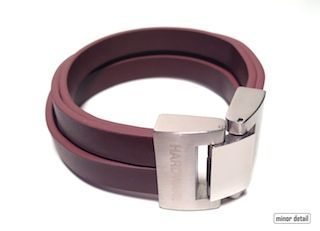 Mens Leather Bracelet by Cudworth featuring4 Pieces of Brown Leather composing the Band mated to a Stainless Steel clasp in Matte and Polished combination. #MensJewellery #Bracelet #MensBracelet #Fashion #MensJewellery #MinorDetail
