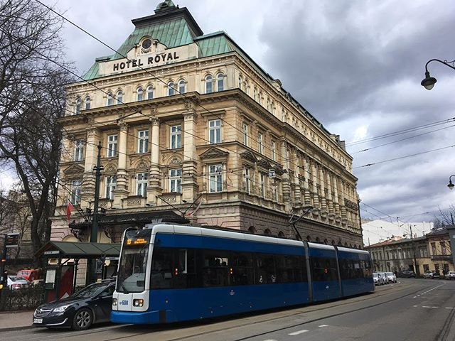 A little perspective view of the train trolley almost in line with the hotel  #krakow #architecture #hotel #train #explore by eternal_lifeforce. mytravelgram #explore #sightseeing #train #photography #mytravelatlas #travel #polish #instapassport #poland #traveling #citylife #travelblogger #traveldiary #instaphoto #instalove #instatravel #architecturelovers #walkingaround #passionpassport #krakow #historic #discover #wanderlust #architecture #hotel #worldcaptures #travelgram