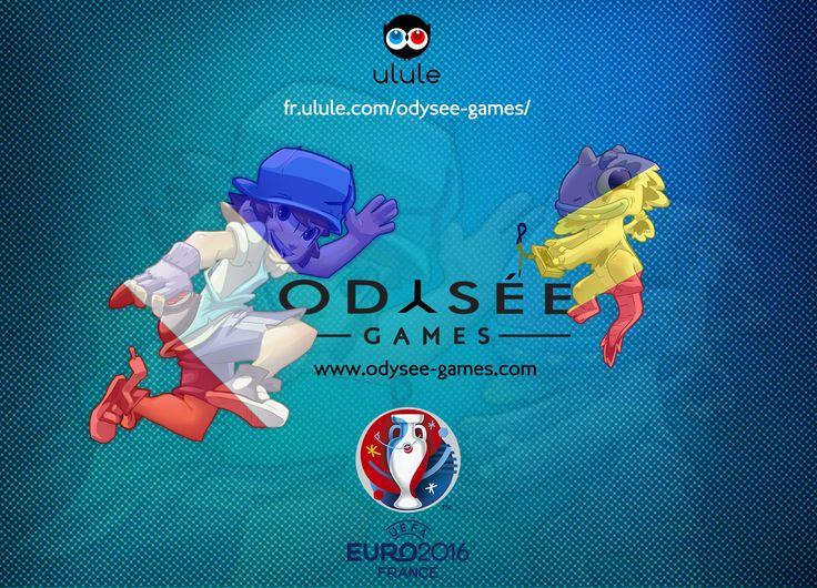 Ce soir c'est l'#Euro2016 ! #AllezLesBleus ! Odysée games pronostique : 2-1 pour l'Équipe de France de Football ! Et vous ?!