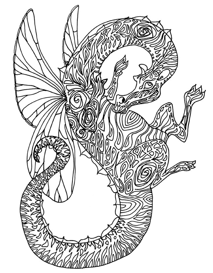 200 best coloring dino, dragon images on Pinterest ...