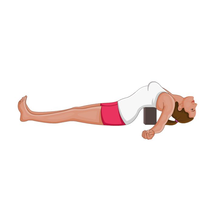 Supported Fish Pose Matsyasana Variation With Blocks Fish Pose Fish Pose Yoga Yoga Poses Advanced