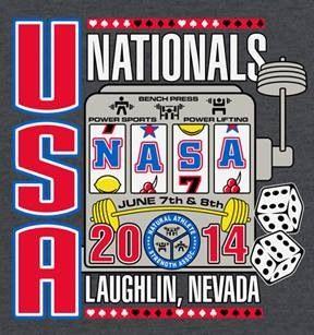 NASA.....my powerlifting organization