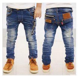Wholesale Spring new children s clothing boys wild baby jeans children trousers new Korean version