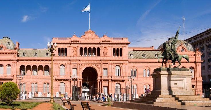 Casa Rosada em Buenos Aires #argentina #viagem