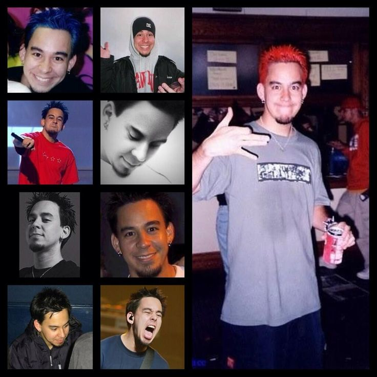 mike shinoda~ he has always been adorable.....