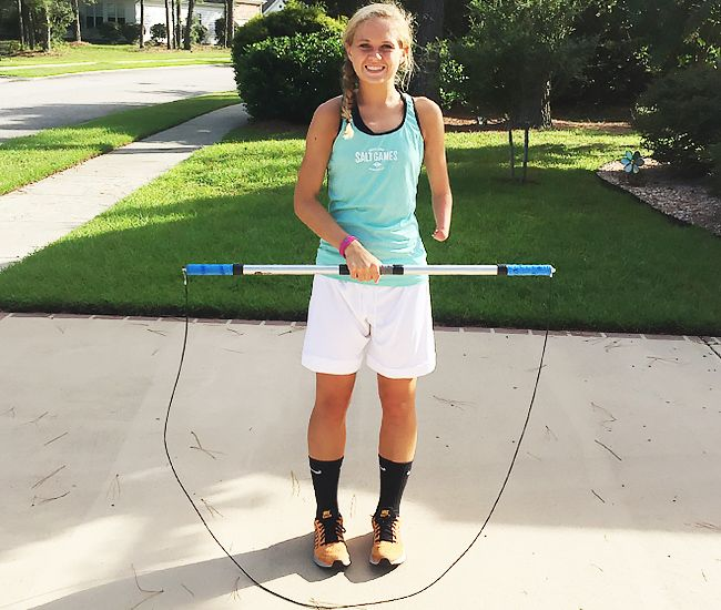 Mute Sports Equipment Adaptive Jump Rope - is a specially designed jump rope for one-armed athletes.