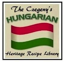 "One of our ORIGINAL TRADEMARKED and COPYRIGHTED LOGOS created in 2005 for the launch of our successfully published ""One of a Kind""  Helen's Hungarian Heritage Recipes Cookbook."