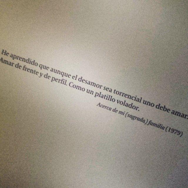Roberto Bolaño sobre el amor...
