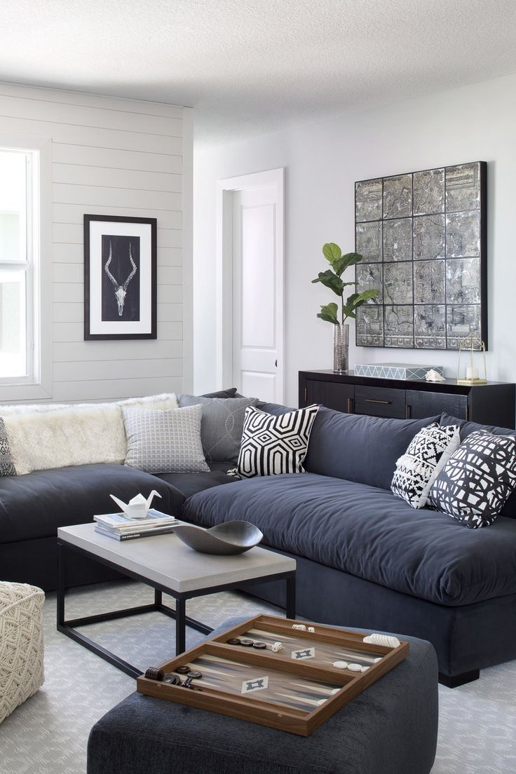 Get inspired by Eclectic Living Room Design photo by Krista ...