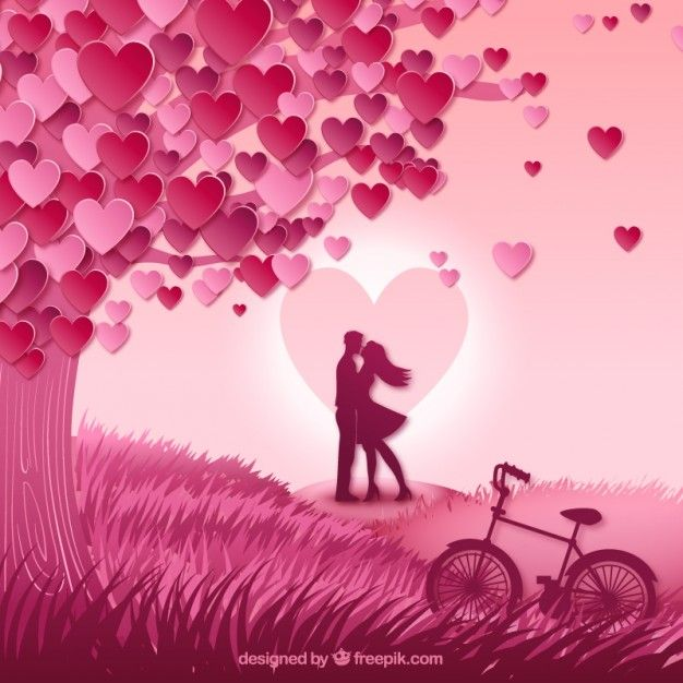 30 best Romantic images on Pinterest | Couple illustration, Free ...