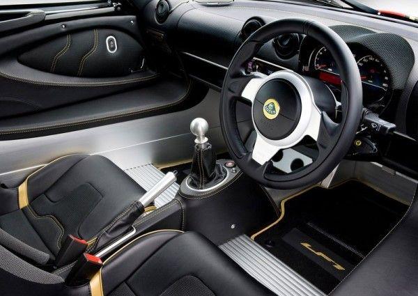 2014 Lotus Exige LF1 interior