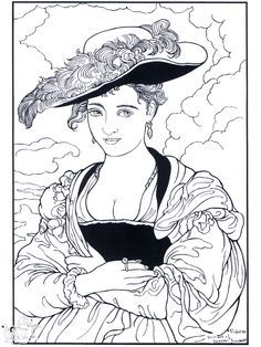 Great Fine Art Coloring Pages   Google Search