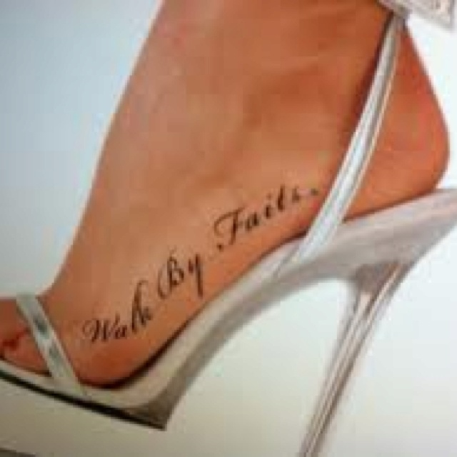 Foot tattoo.. Like it..but i would want it on the other side of my foot