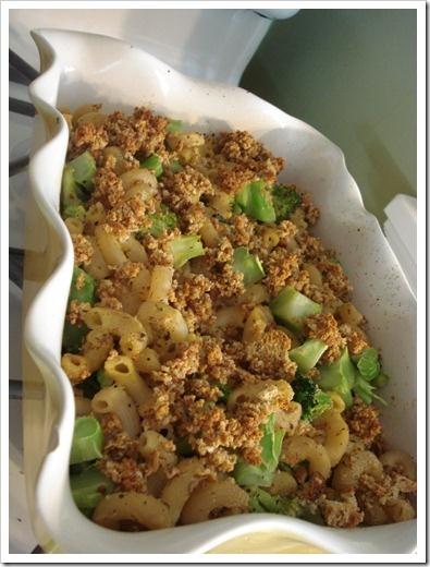 vegan baked mac n cheese | Comfort Food | Pinterest