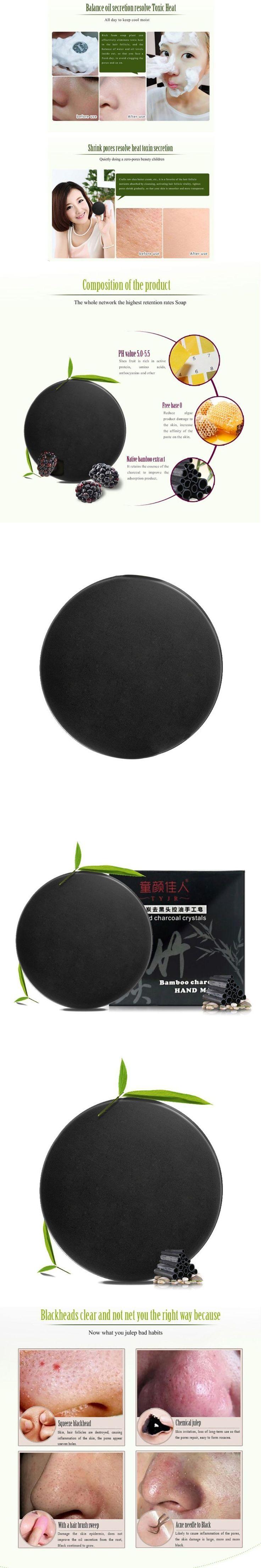 BTG 2017 skin care natural Skin whitening soap blackhead remover acne treatment Bamboo charcoal handmade soap Treatment #Treatingskindarkspots #naturalskinwhitening
