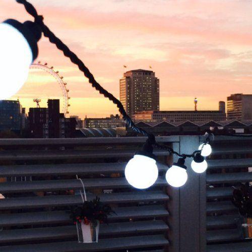 1000 id es propos de guirlandes lumineuses de globe sur for Guirlande exterieure lumineuse 20 metres