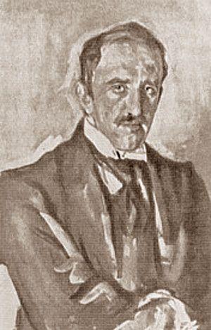 Портрет скульптора Паоло Трубецкого  (В. А. Серов)