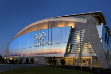 Richmond Olympic Skating Oval -- British Columbia (Archt: Cannon Design)