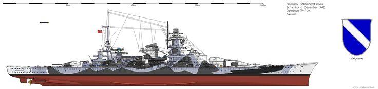 BB Scharnhorst +1943 12.
