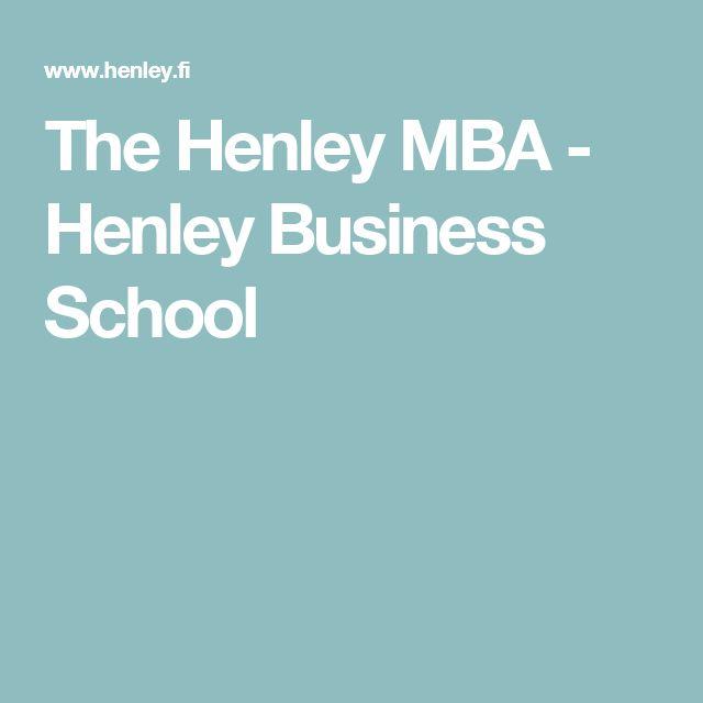 The Henley MBA - Henley Business School