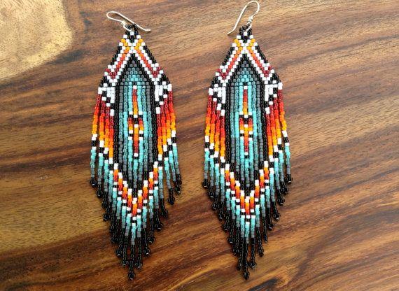 Calm Spirit Earrings by wildmintjewelry on Etsy