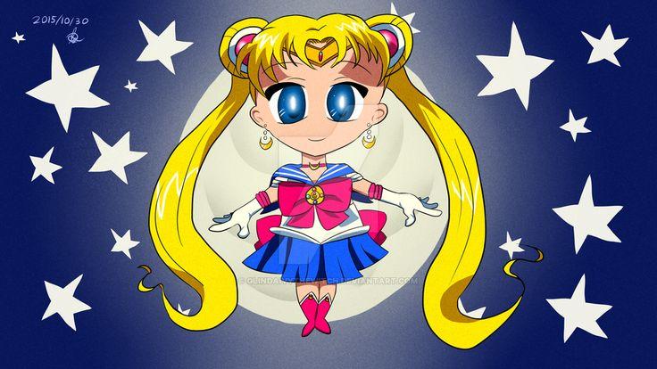 Sailor Moon Chibi Serena! by GlindaIvyTheWitch.deviantart.com on @DeviantArt