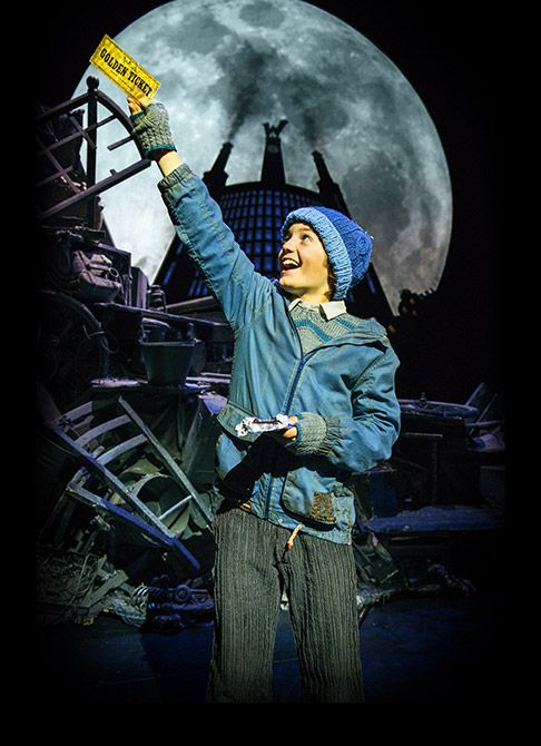 Charlie and the Chocolate Factory musical in the West End - such a good show to remember why it is a good to dream.