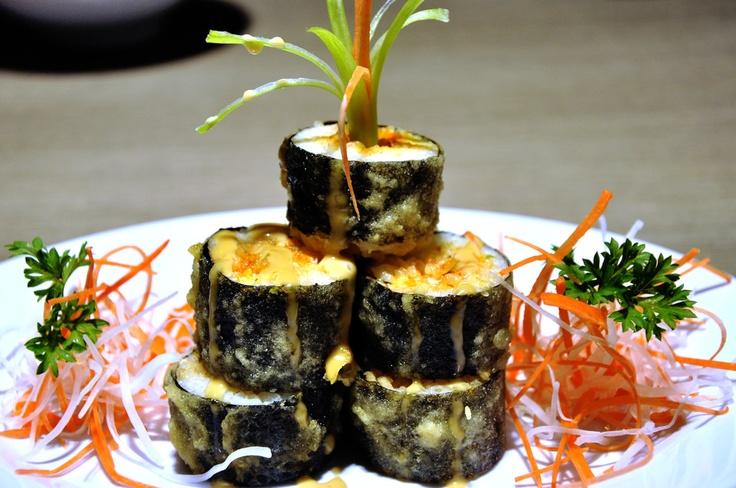 Sakana Age Roll Sushi at Teppanyaki