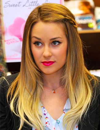 Lauren Conrad's ombre beach waves <3 Visit www.makeupbymisscee.com for #hair and #beauty inspiration