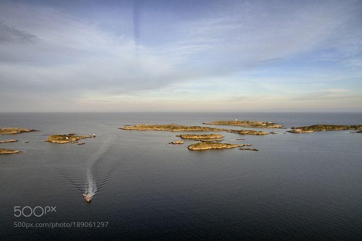Brekkestø - Drone by geirvika