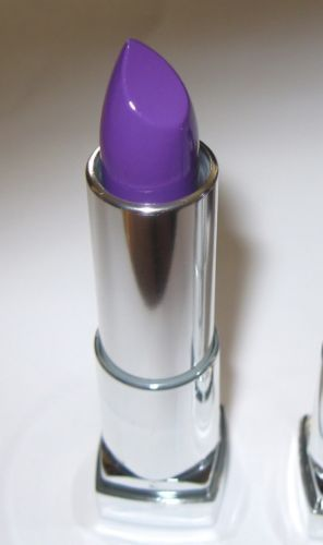 Maybelline Colorsensational Vivid Lavender Voltage Mac Heroine Dupe Purple 1000