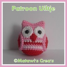 Patterns for little and big owls - can get them in English