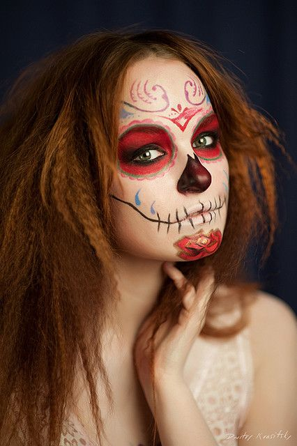 54 best Catrina Makeup images on Pinterest | Halloween ideas ...
