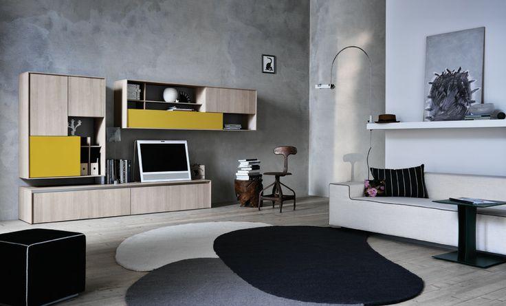 C-Day meubel van het Italiaanse merk #Cesar met speelse accenten doet uw woonkamer leven.
