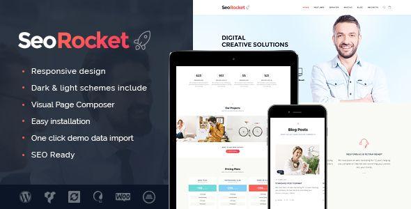 Seo Rocket - SEO & Marketing WordPress Theme (Marketing) - http://creativewordpresstheme.com/seo-rocket-seo-marketing-wordpress-theme-marketing/