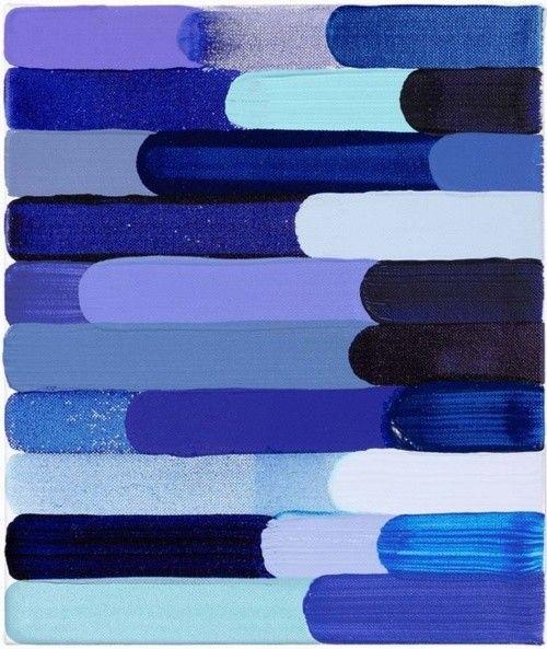 Shades of blueShades, Diy Art, Cobalt Blue, Colors Palettes, Home Decor, Nails Polish, Colors Blue, Art Painting, Blue Art