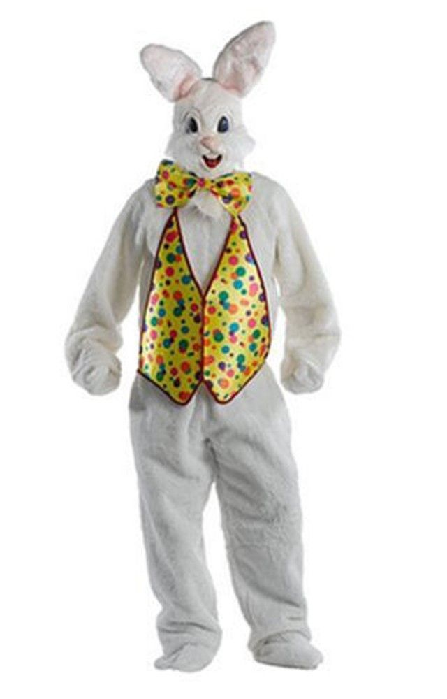 Graceful Easter Bunny Super Deluxe Costume Adult. Trendy Range of Mascots Costumes for Easter Day at Partybell.    #easter #bunny #easterbunny