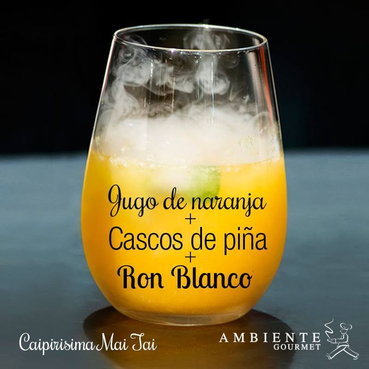 #cóctel Caipirisima Mai tai para vivir celebraciones inolvidables