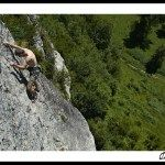 La falaise de Génat - Ariège France