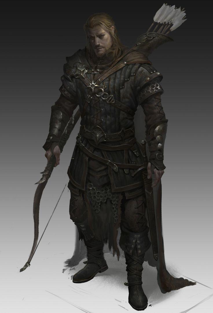 Guerreiro, elfo, arqueiro