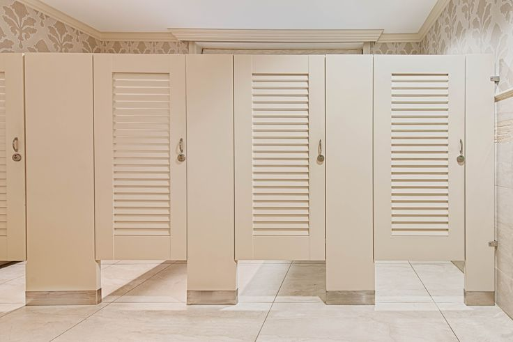 ironwood manufacturing zero sightline louvered bathroom doors and high privacy toilet partitions beautiful clean