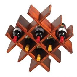 9 Bottle Wine Rack | Household and decor | Wood and Bamboo products