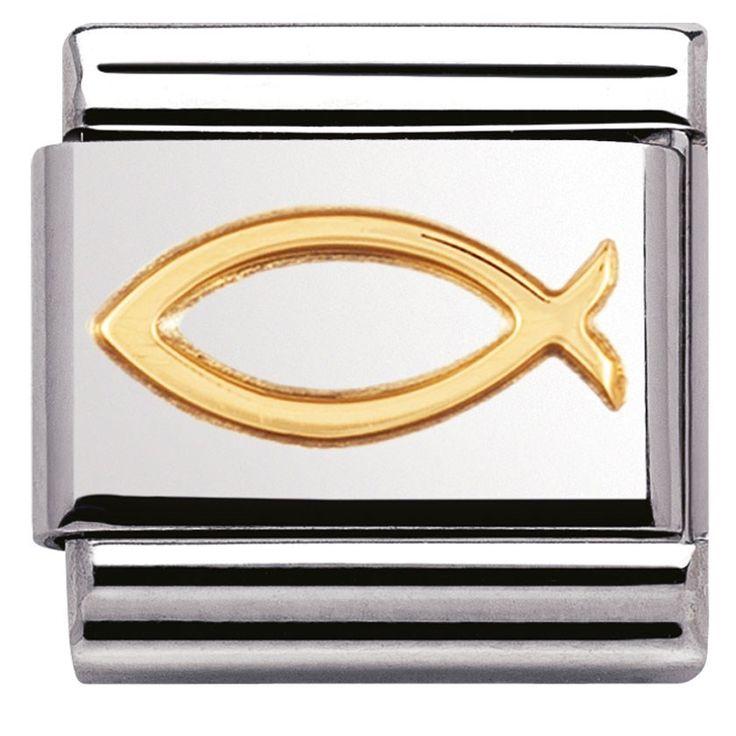 Nomination Charm Fish