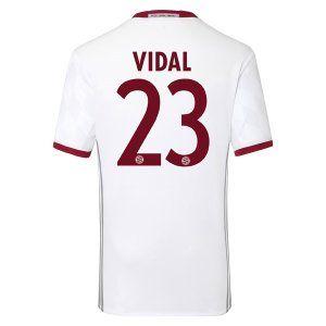 16-17 FC Bayern Munich Third Cheap VIDAL #23 Replica Jersey [G299]
