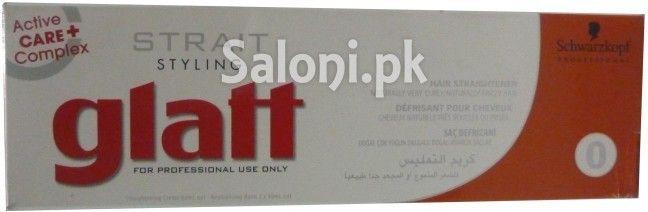 SCHWARZKOPF GLATT STRAIT STYLING PROFESSIONAL HAIR STRAIGHTENER 82 ML Saloni™ Health