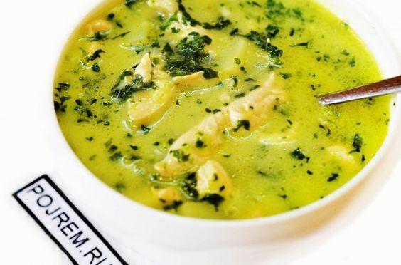 суп из шпината Spinach Soup
