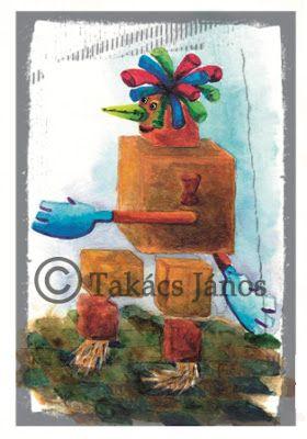 #illustration #box by Janos Takacs